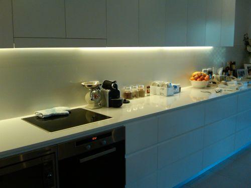 LED pasky v profilu
